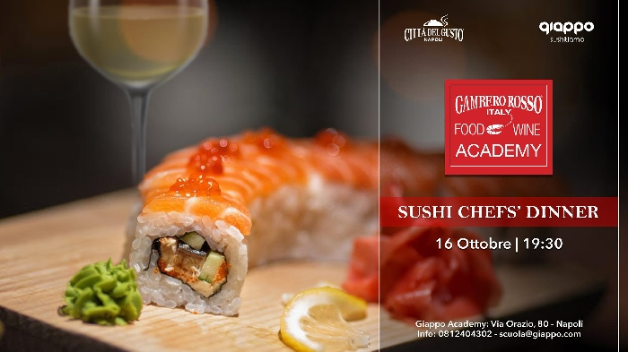 16/10 - Giappo Accademy - Napoli - Sushi Chefs