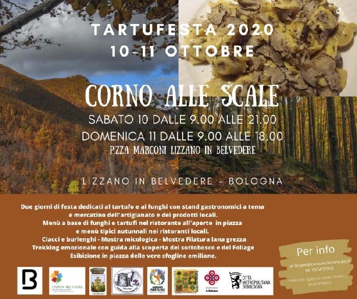 10 e 11 Ottobre - Corno alle Scale - Lizzano in Belvedere (BO) -Tartufesta 2020