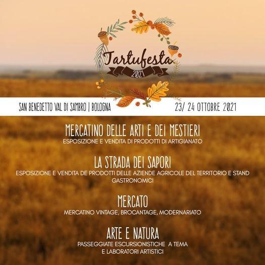 23 e 24 ottobre - San Benedetto Val di Sambro - (BO) - Tartufesta 2021