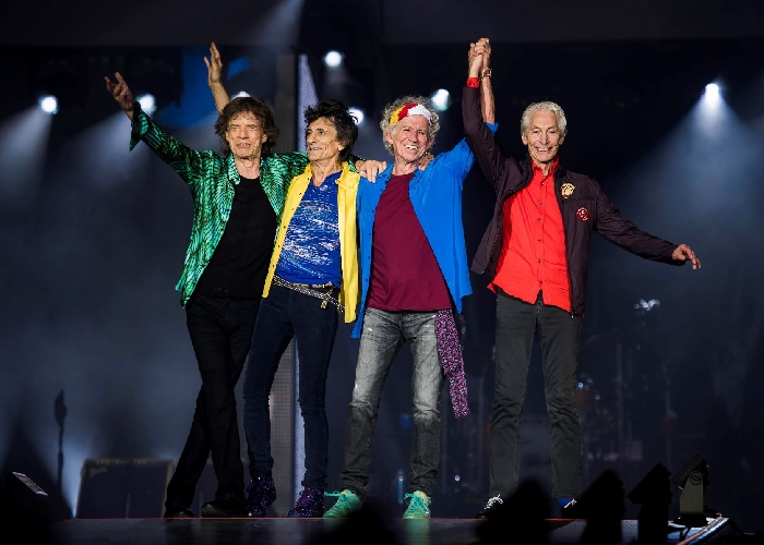 The Rolling Stones - photo by Andrew Timms