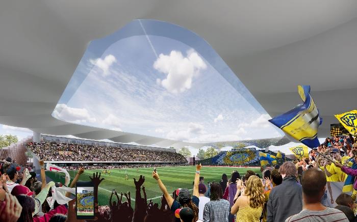 Il progetto del Parma Calcio:Uno Stadio per Parma, ispirato da Parma