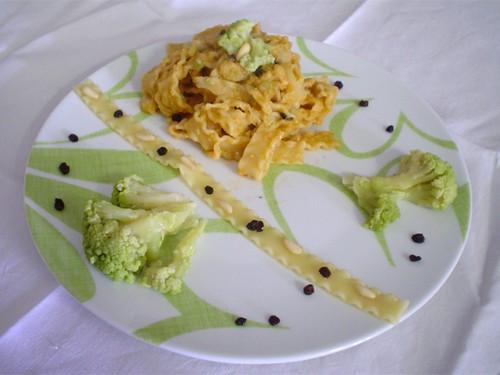 Pasta con i broccoli arriminata