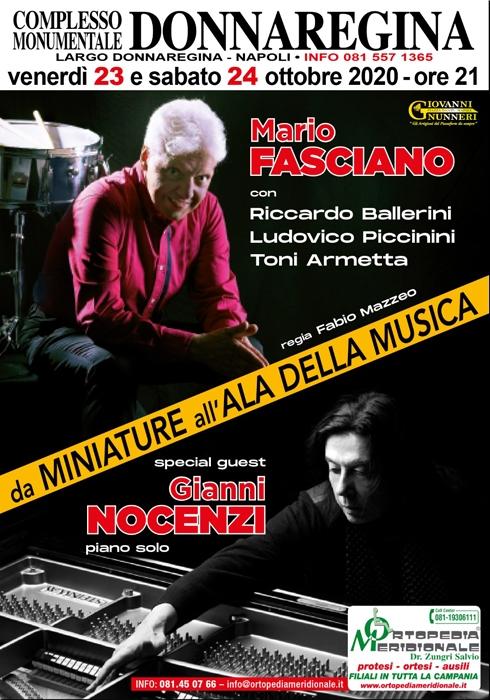 23 e 24 Ottobre - Complesso Monumentale Donna Regina - Napoli - da Miniature a Ala della Musica