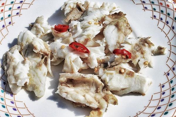 Ciriole con branzino, pomodori secchi e zucchine - preparazione