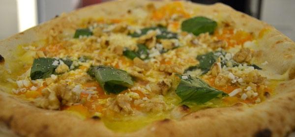 Pizza Zucca e Noci