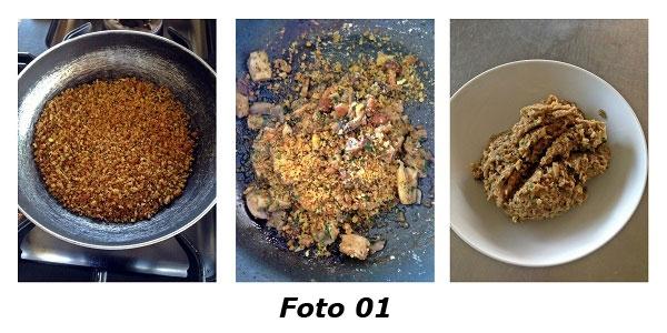 �Souvenirs d'automne� bauletti di farina di castagne con rositi silani e caciocavallo podolico - Foto 01