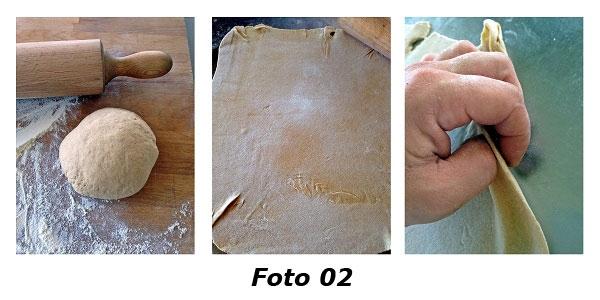 �Souvenirs d'automne� bauletti di farina di castagne con rositi silani e caciocavallo podolico - Foto 02