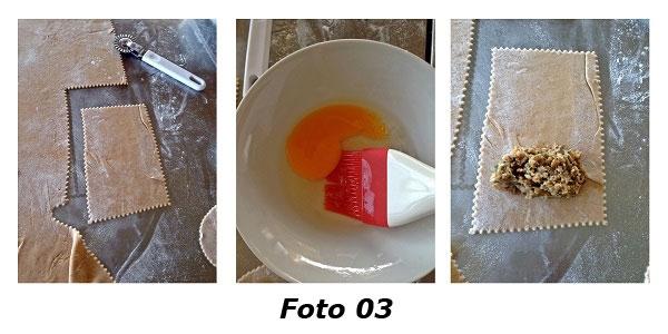 �Souvenirs d'automne� bauletti di farina di castagne con rositi silani e caciocavallo podolico - Foto 03