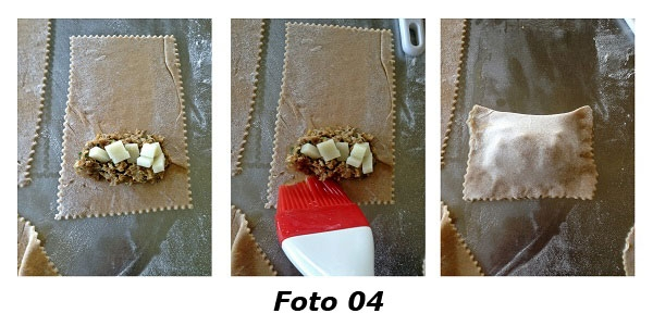 �Souvenirs d'automne� bauletti di farina di castagne con rositi silani e caciocavallo podolico - Foto 04