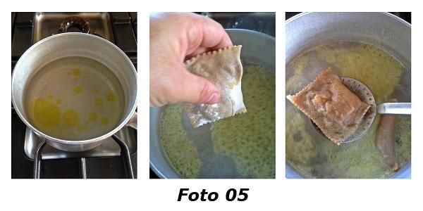 �Souvenirs d'automne� bauletti di farina di castagne con rositi silani e caciocavallo podolico - Foto 05