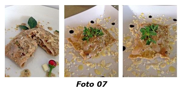 �Souvenirs d'automne� bauletti di farina di castagne con rositi silani e caciocavallo podolico - Foto 07