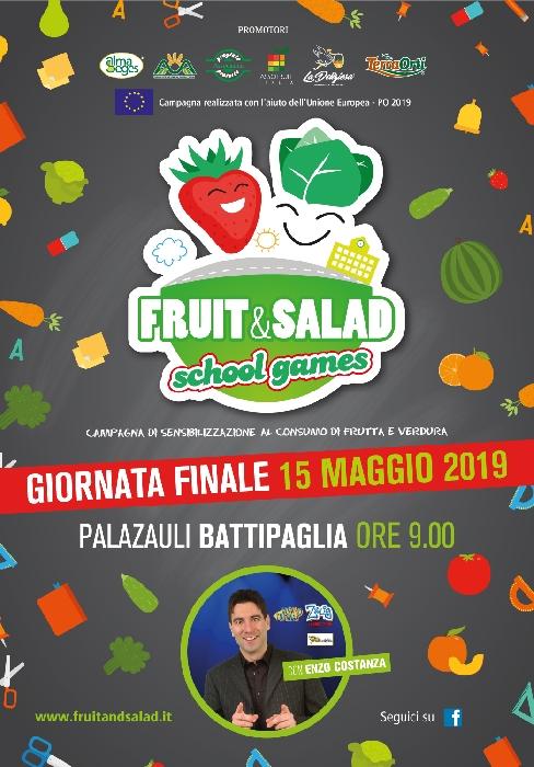 finale di Fruit and Salad School Games 2019