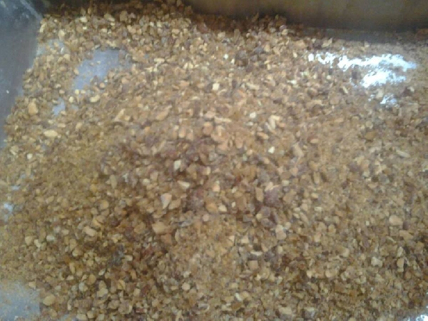 Torta parfais di mandorle - preparazione