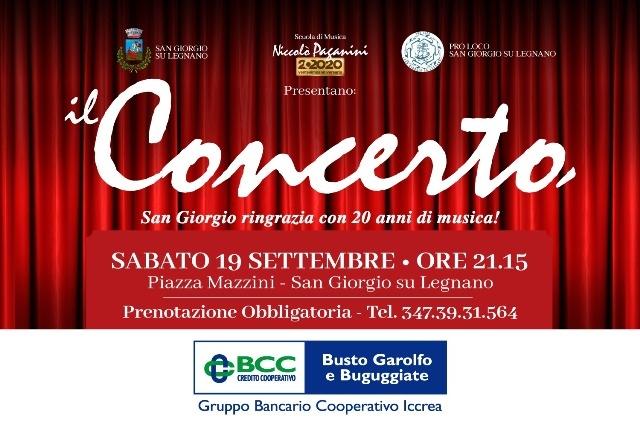 La scuola Paganini riporta la musica nelle piazze: sabato 19 settembre il concerto di fine estate a San Giorgio su Legnano (MI)