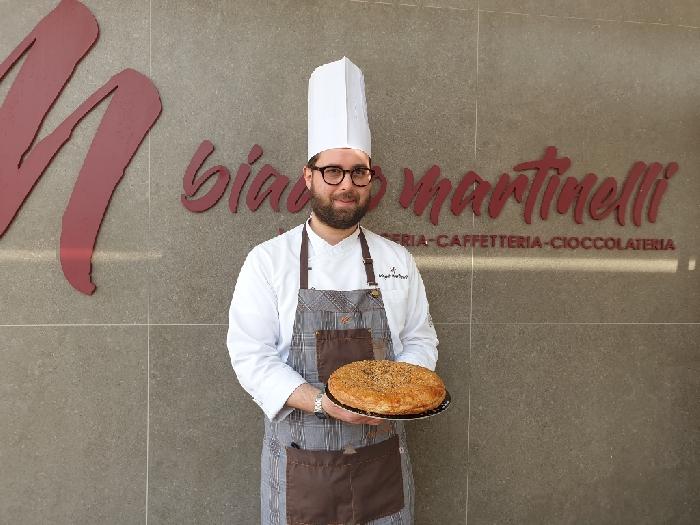 Alla Pasticceria Biagio Martinelli nasce la Polacca aversana in versione rustica con provolone del monaco Dop e salsiccia di suino nero campano