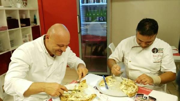 Settima Tappa di Pizzarelle a Go Go - Pizzeria Bella Napoli - Acerra (NA) - Stefano Bartolucci e Vincenzo Di Fiore