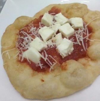 pizza fritta aperta