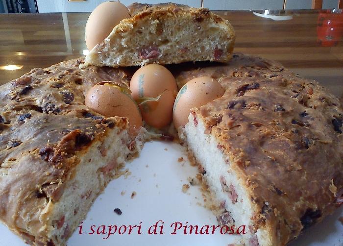 Ricetta inserita su spaghettitaliani.com da Pinarosa Fabozzi: Casatiello napoletano