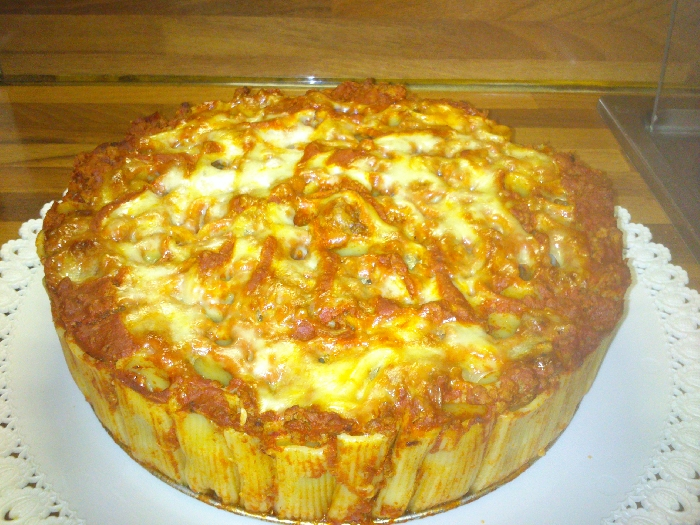 Ricetta inserita su spaghettitaliani.com da Pinarosa Fabozzi: Torta di rigatoni