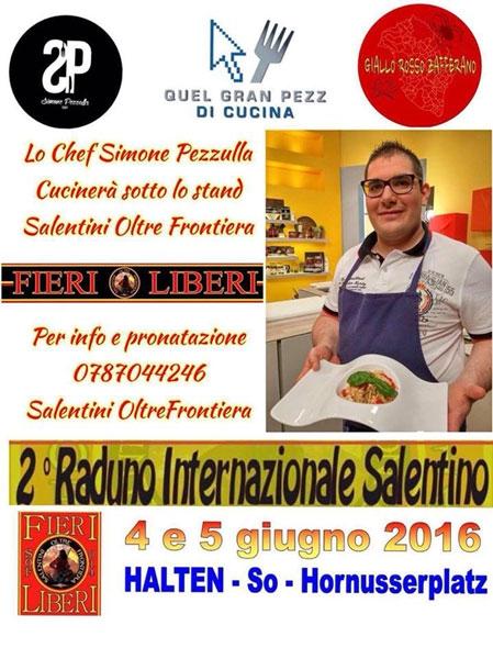 4 e 5 giugno - Halten (Svizzera) - 2° Raduno Internazionale Salentino