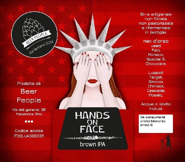Eccellenze dei monti prenestini Beer People - Hand on Face birra artigianale