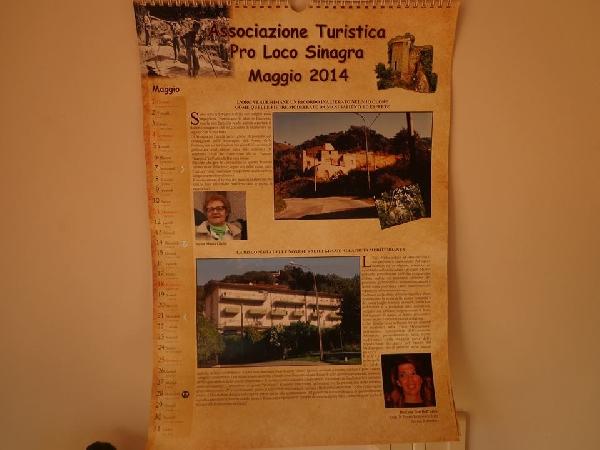 CALENDARIO DI SINAGRA | MESE DI MAGGIO