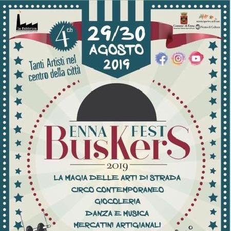 29 e 30 Agosto - Centro Storico - Enna - Buskers Fest 2019