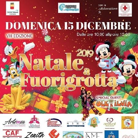 Evento di beneficenza giunto alla sua VIII edizione Natale a Fuorigrotta in piazza domenica 15 dicembre