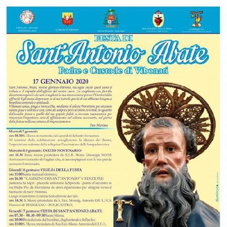 17/01 - Vibonati (SA) - Festa di Sant