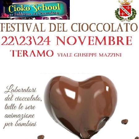 Dal 22 al 24 Novembre - Teramo - Festival del Cioccolato
