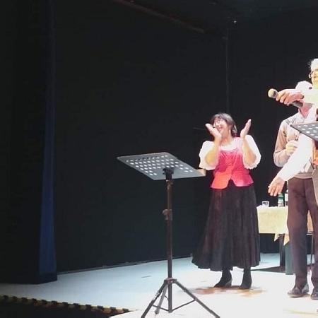 """La compagnia teatrale Perlasca in scena con """"Filumena Marturano a Roma"""" l"""
