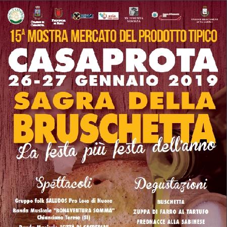 26 e 27 Gennaio - Casaprota (RI) - Sagra della Bruschetta