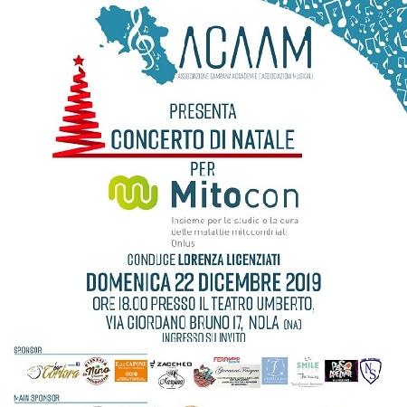 Il prossimo 22 dicembre, presso il Teatro Umberto di Nola, l