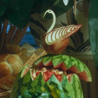 -Macedonia di Frutta in Coppa di Cocomero