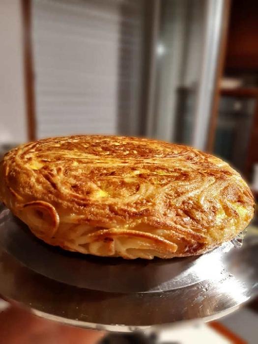 -Pizza di bucatini