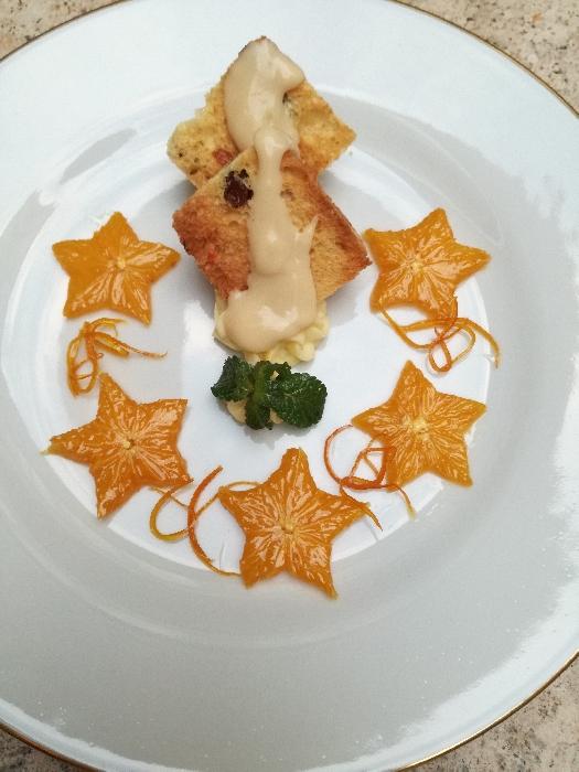-Tegoline di Panettone con Arancio Caramellato e Zabaione 2