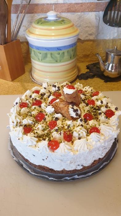 -cheesecake cannolo siciliano...ebbuonappetito