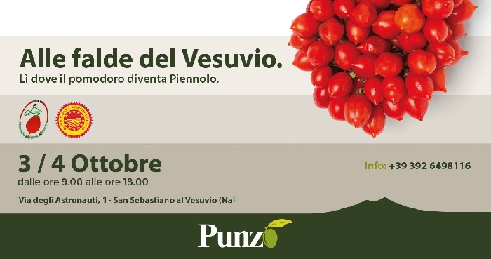 Alle falde del Vesuvio