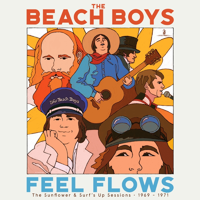 Feel Flows - The Sunflower and Surf's Up Sessions – 1969/1971 di: Beach Boys - Universal Music - 2021