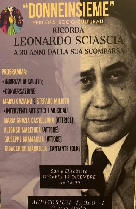Donneinsieme ricorda Leonardo Sciascia