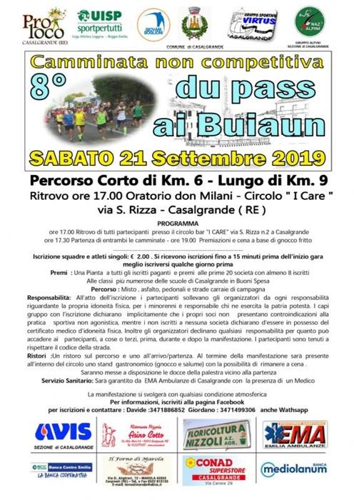 Du pass ai Buiaun