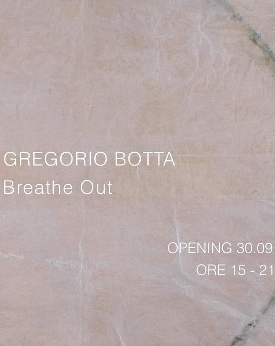 Gregorio Botta con la mostra Breathe Out alla Galleria Studio G7 di Bologna dal 1 ottobre al 13 novembre