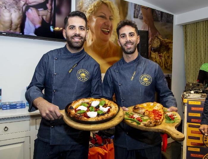 I Gemelli Fusco presentano la Pizza Ringhio Star