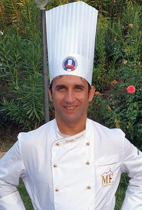 Lo Chef Giuseppe Romano