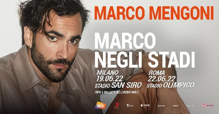 Marco Mengoni negli Stadi