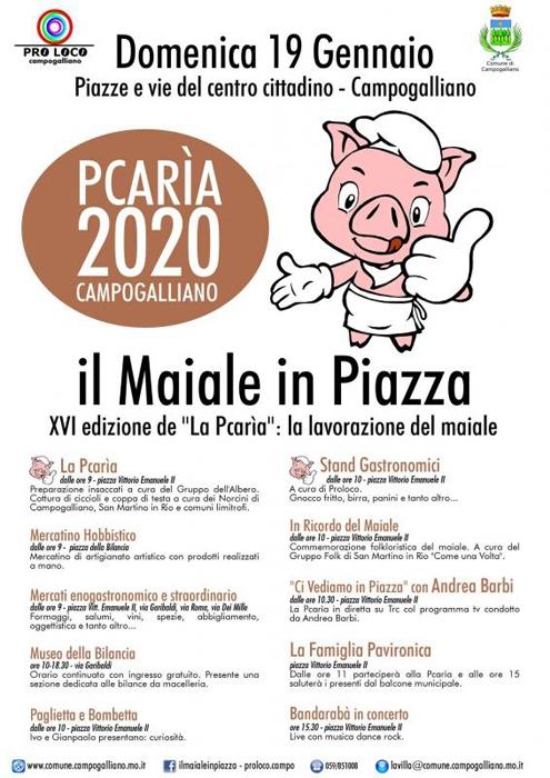 Pcarìa - Il Maiale in Piazza