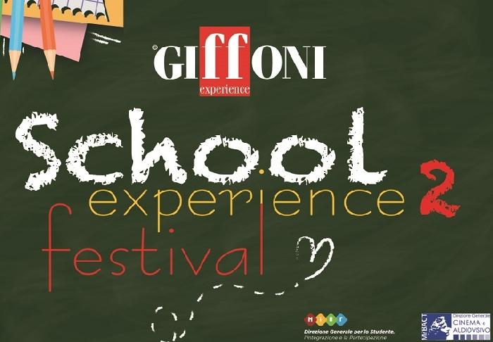 SCHOOL EXPERIENCE II: CON GIFFONI TORNA, IN DIGITAL EDITION, IL CINEMA PER LA SCUOLA PROMOSSO DA MIUR E MIBACT