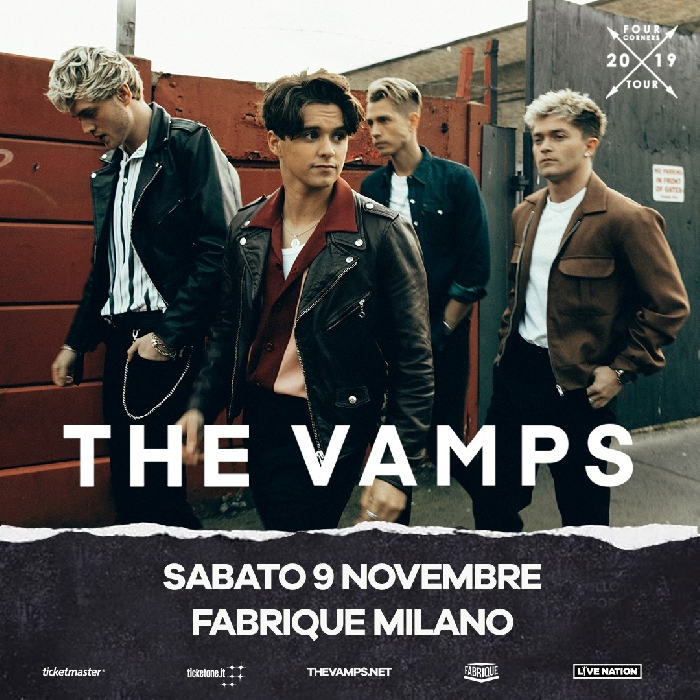 The Vamps a Milano