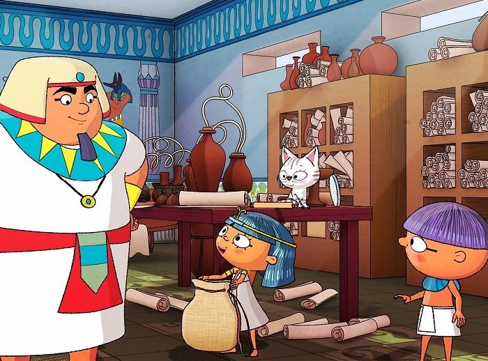 Una nuova serie animata ambientata all'ombra delle Piramidi