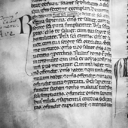 -Logo Percorsi Assisi 2019 lettera del religioso Matematico padre della Ragioneria Luca Pacioli